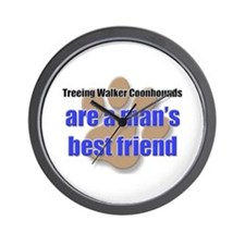 Treeing Walker Coonhounds man's best friend Wall C