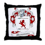 Mcnamara Family Crest Throw Pillow