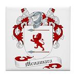 Mcnamara Family Crest Tile Coaster