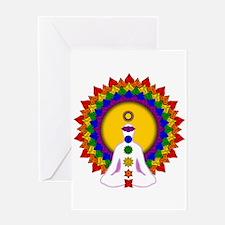 Spiritually Enlightened Greeting Card