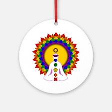 Spiritually Enlightened Ornament (Round)