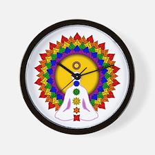 Spiritually Enlightened Wall Clock