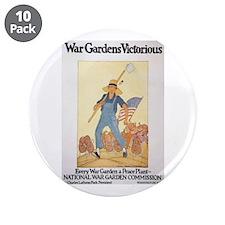"Victory Garden 3.5"" Button (10 pack)"