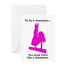 Gymnastics Card - Champion