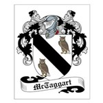 McTaggart Family Crest Small Poster