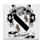 McTaggart Family Crest Tile Coaster
