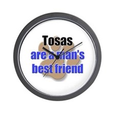 Tosas man's best friend Wall Clock