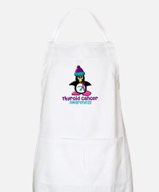 Winter Penguin 2 (Thyroid Cancer) BBQ Apron