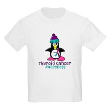 Winter Penguin 2 (Thyroid Cancer) T-Shirt