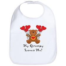 My Grampy Loves Me! Bib