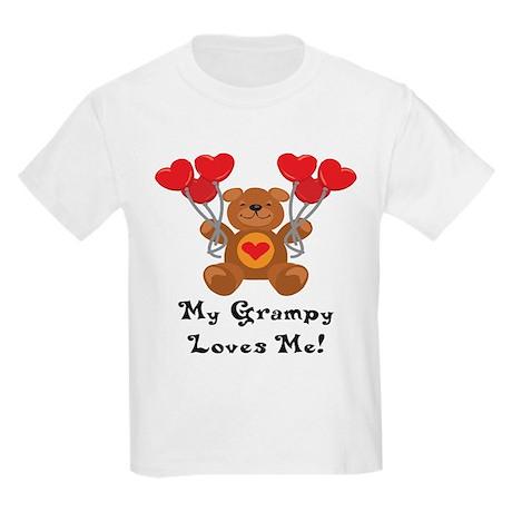 My Grampy Loves Me! Kids Light T-Shirt