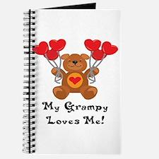 My Grampy Loves Me! Journal