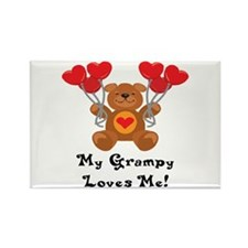 My Grampy Loves Me! Rectangle Magnet
