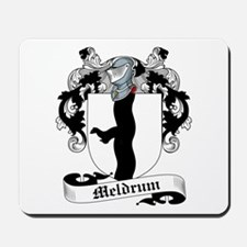 Meldrum Family Crest Mousepad