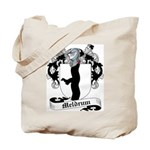 Meldrum Family Crest Tote Bag