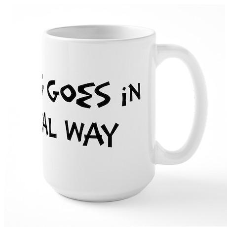 Federal Way - Anything goes Large Mug