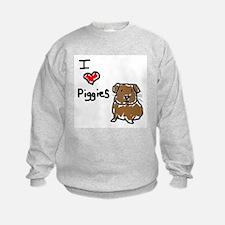 I Love Piggies Sweatshirt