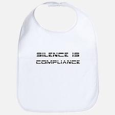 Silence Compliance Bib