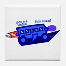 Nerdlicious!&#8482 Tile Coaster
