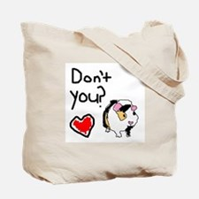 I Love Piggies Tote Bag