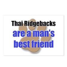 Thai Ridgebacks man's best friend Postcards (Packa