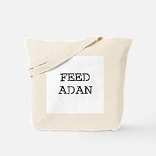 Feed Adan Tote Bag