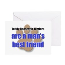 Teddy Roosevelt Terriers man's best friend Greetin