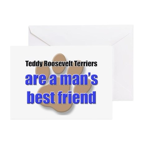 Teddy Roosevelt Terriers man's best friend Greetin