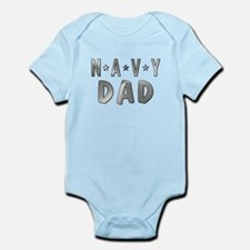 NAVY DAD Body Suit