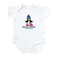 Winter Penguin 2 (Thyroid Disease) Infant Bodysuit