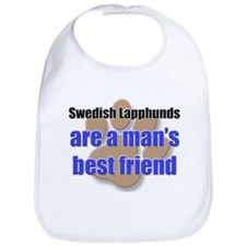 Swedish Lapphunds man's best friend Bib
