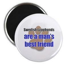 Swedish Lapphunds man's best friend Magnet