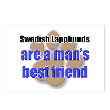 Swedish Lapphunds man's best friend Postcards (Pac