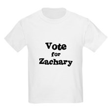 Vote for Zachary Kids T-Shirt
