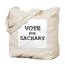 Vote for Zachary Tote Bag