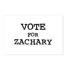 Vote for Zachary Postcards (Package of 8)