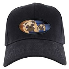 Two Pugs Together Baseball Cap