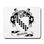Menteith Family Crest Mousepad