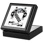 Menteith Family Crest Keepsake Box