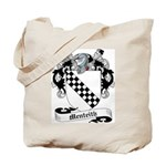 Menteith Family Crest Tote Bag