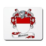Menzies Family Crest Mousepad