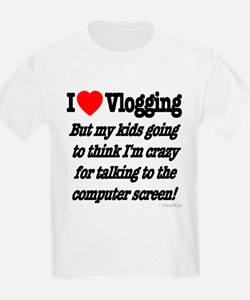 I Love Vlogging but... T-Shirt