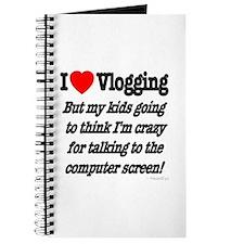 I Love Vlogging but... Journal