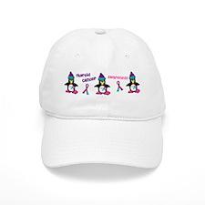 Winter Penguin 2 (Thyroid Cancer) Baseball Cap