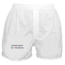 Ichnologist In Training Boxer Shorts