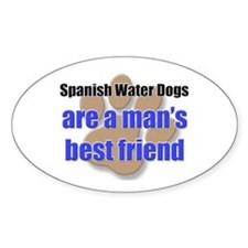 Spanish Water Dogs man's best friend Decal
