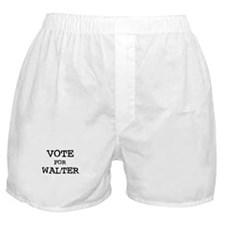 Vote for Walter Boxer Shorts