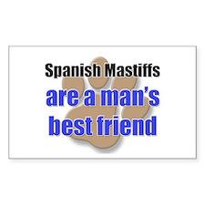 Spanish Mastiffs man's best friend Decal