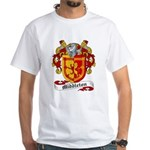Middleton Family Crest White T-Shirt