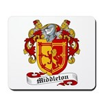 Middleton Family Crest Mousepad